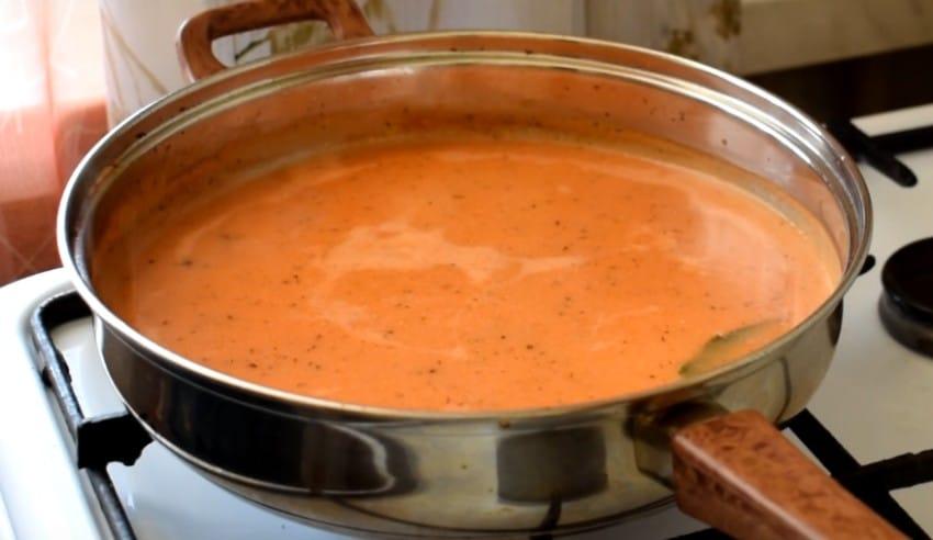Как готовится подлива к макаронам как в столовой
