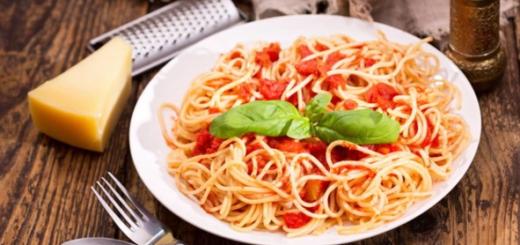 Как приготовить вкусный томатный соус для спагетти