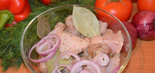 ОСобенности приготовления вкусного маринада с уксусом для шашлыка из курицы